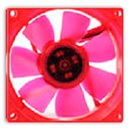 Thermaltake UV Fan 80mm Red