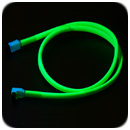 Vizo Starlet UV SATA Cable - Green