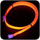 Vizo Starlet UV SATA Cable - Red